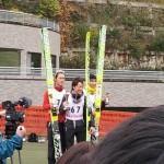 竹内選手 2位  作山選手 15位  伊藤杯サマーファイナル大倉山ジャンプ大会