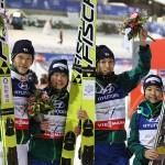 ジャンプ混合団体で金メダル! ノルディック世界選手権ヴァルディフィエメ