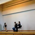 上村愛子 病院ふれあい祭りで感謝!
